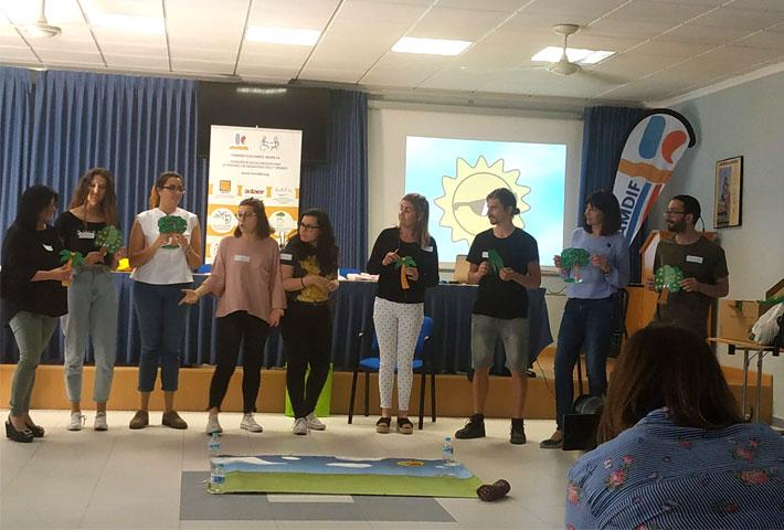 sensibilizacion escolar en Lorca ASDIFILOR 2019