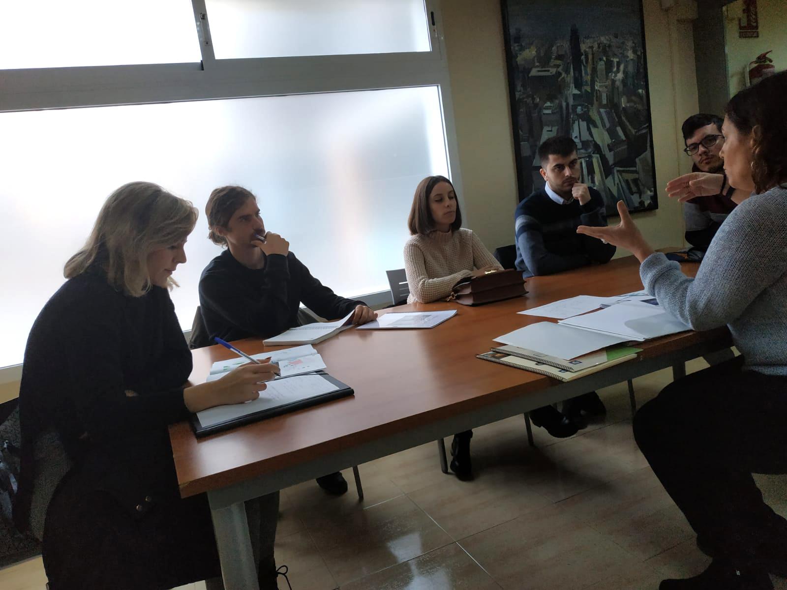 reunion grupo de evaluadores Cartagena