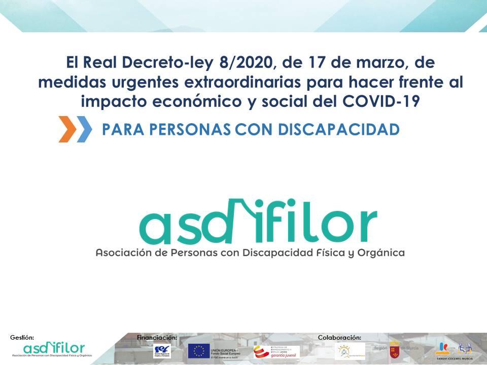 Real Decreto-ley-8/2020, de 17 de marzo