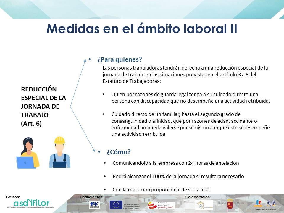 Medidas en el ámbito laboral Real Decreto-ley 8/2020, de 17 de marzo